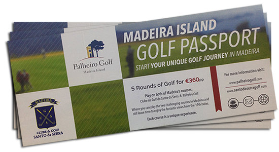 Madeira Island Golf Passport